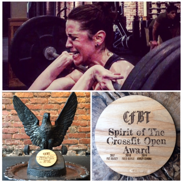 The 2019 'Spirit Of The CrossFit Open' Award Goes To….